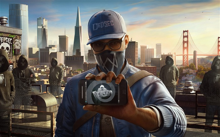 Watch dogs 2 marcus-Game High Quality HD Wallpaper Views:953