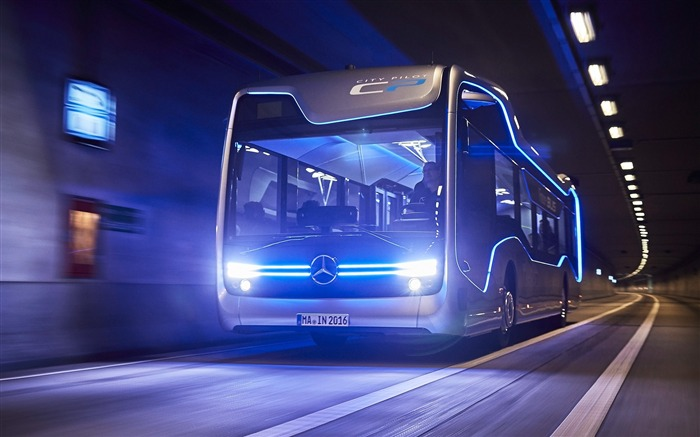 2016 Mercedes-Benz Future Bus HD Theme Wallpaper Views:3665