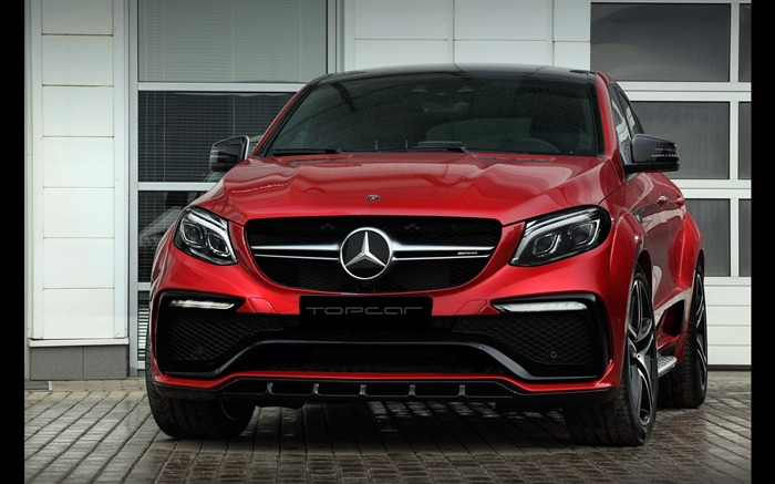 2016 Red Mercedes-Benz GLE Inferno HD Wallpaper 01 Views:1410