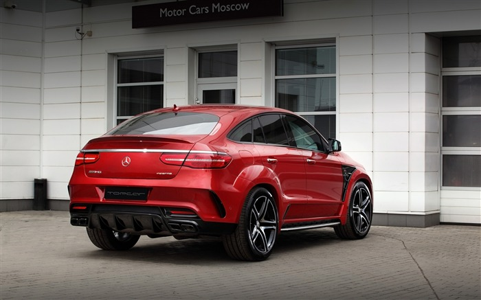 2016 Red Mercedes-Benz GLE Inferno HD Wallpaper 04 Views:1220