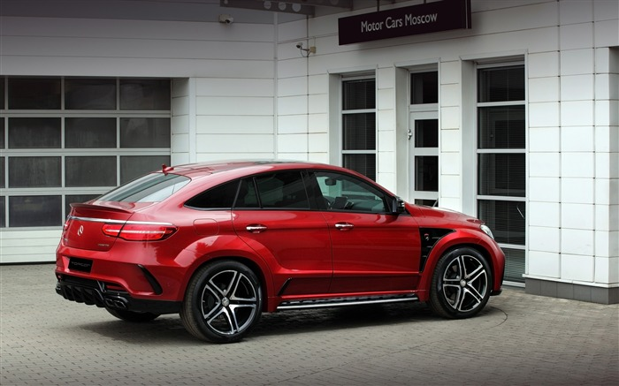 2016 Red Mercedes-Benz GLE Inferno HD Wallpaper 05 Views:1609