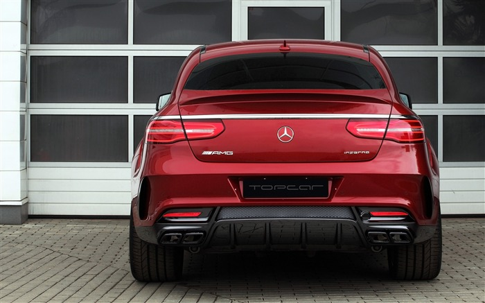 2016 Red Mercedes-Benz GLE Inferno HD Wallpaper 06 Views:1299