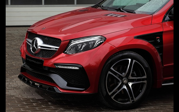 2016 Red Mercedes-Benz GLE Inferno HD Wallpaper 07 Views:1430