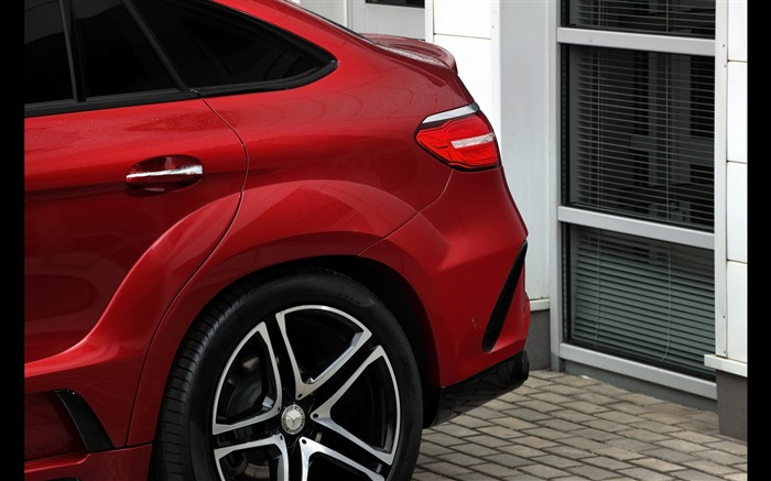 2016 Red Mercedes-Benz GLE Inferno HD Wallpaper 08 Views:1431