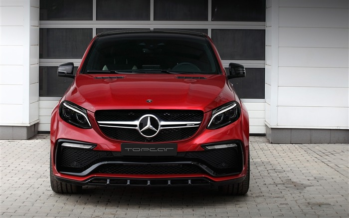 2016 Red Mercedes-Benz GLE Inferno HD Wallpaper 10 Views:1338