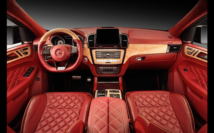 2016 Red Mercedes-Benz GLE Inferno HD Wallpaper 14 Views:1313