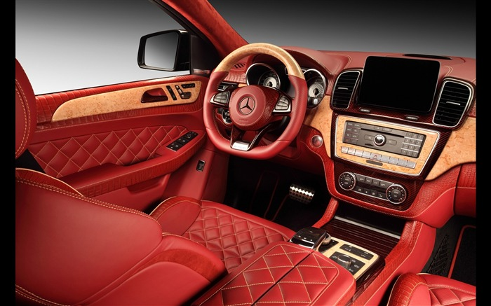 2016 Red Mercedes-Benz GLE Inferno HD Wallpaper 15 Views:1756