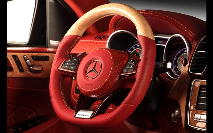 2016 Red Mercedes-Benz GLE Inferno HD Wallpaper 23 Views:648