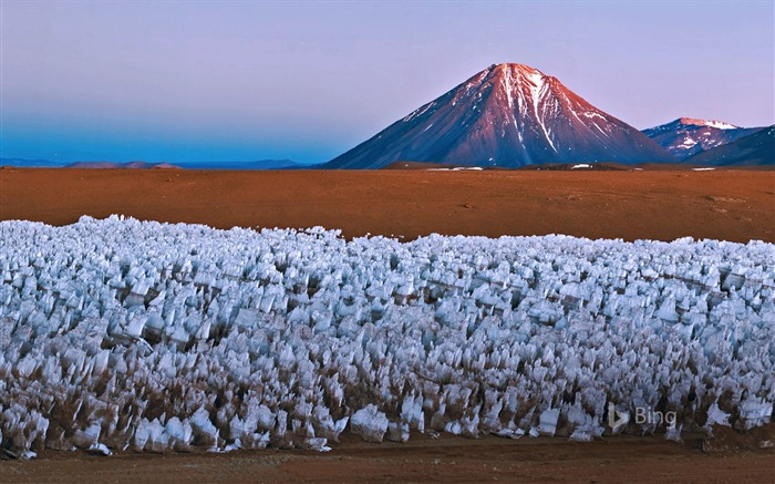Bolivia and Chile Licancabur volcano-2016 Bing Desktop Wallpaper Views:1019