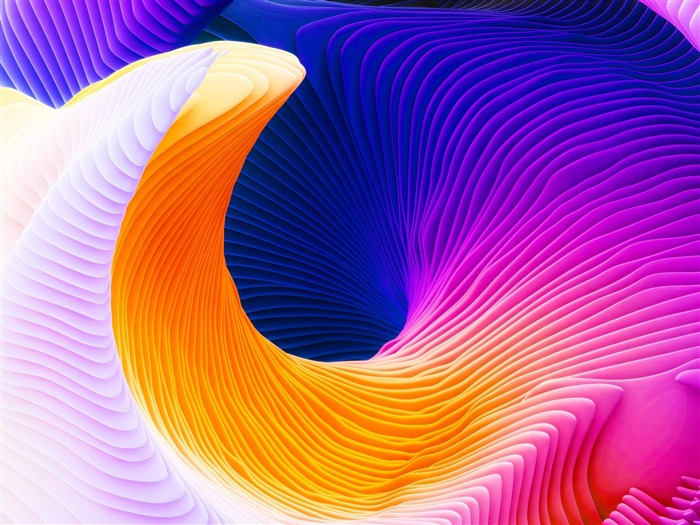 Colorful 3d abstract spiral-2016 High Quality Wallpaper Views:1637