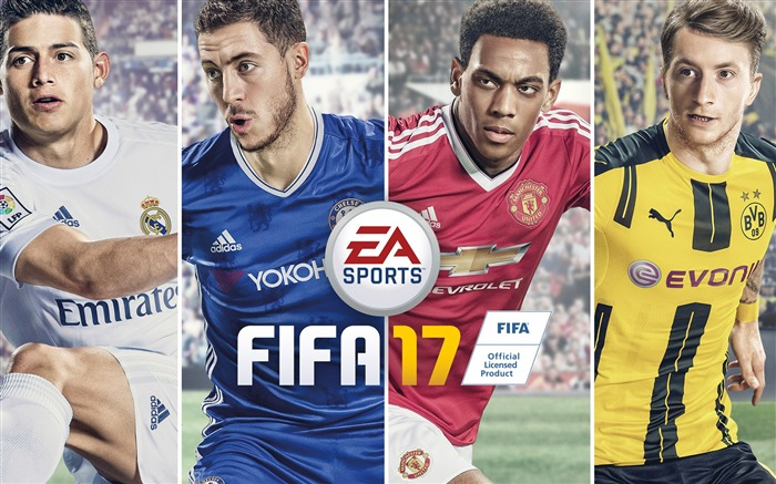 FIFA 17 EA Sports Game HD Theme Wallpaper Views:13259