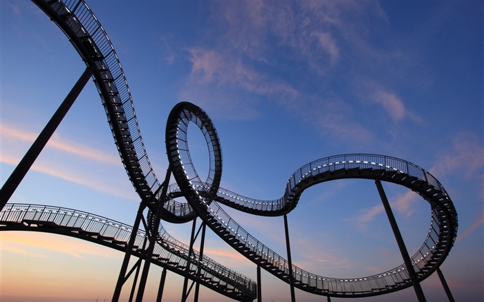 Germany Duisburg Roller Coaster-2016 High Quality Wallpaper Views:2130