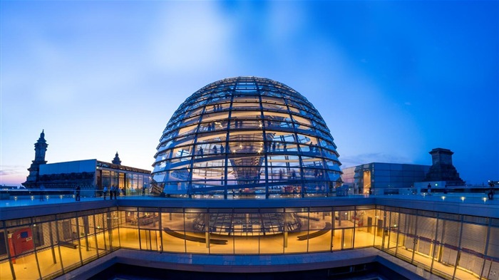 Germany Reichstag Dome in Berlin-2016 Bing Desktop Wallpaper Views:572
