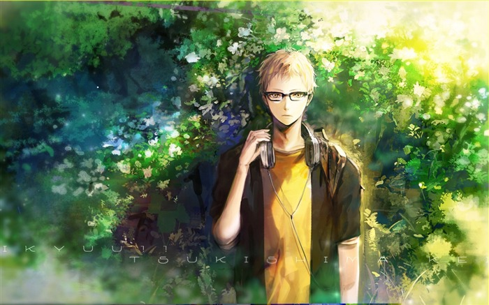 Haikyuu Tsukishima Guy-2016 High Quality Wallpaper Views:1971