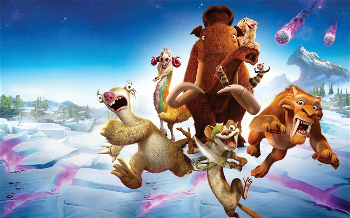 Ice Age 5 Collision Course-2016 High Quality Wallpaper Views:7277