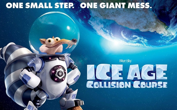 Ice Age Collision Course 2016 Movies Wallpaper 01 Views:1319