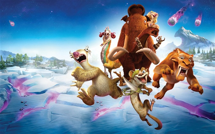 Ice Age Collision Course 2016 Movies Wallpaper 06 Views:1489