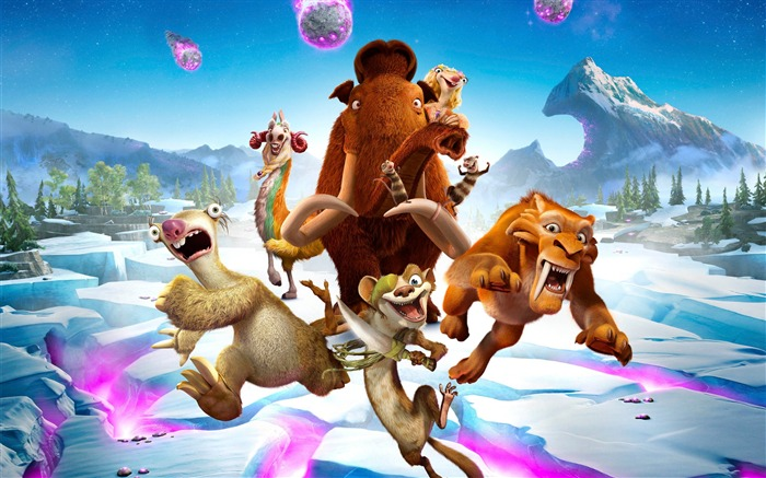 Ice Age Collision Course 2016 Movies Wallpaper 07 Views:1619