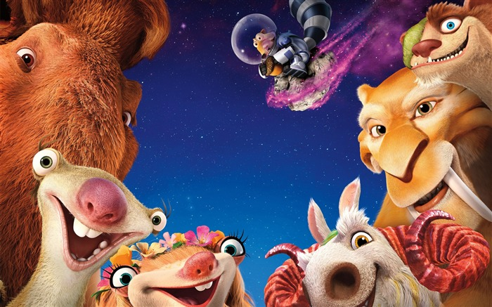 Ice Age Collision Course 2016 Movies Wallpaper Views:1594