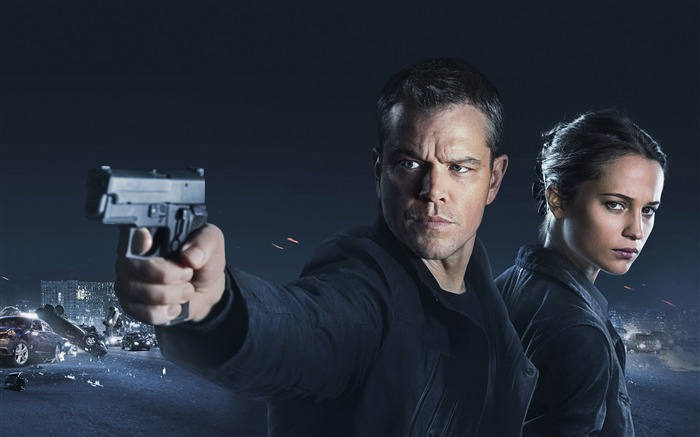 Jason Bourne-2016 High Quality Wallpaper Views:2932