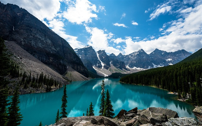 Moraine lake canada-Scenery High Quality Wallpaper Views:2018