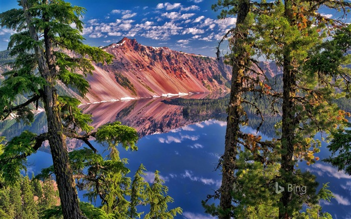 Oregon Crater Lake National Park-2016 Bing Desktop Wallpaper Views:1135