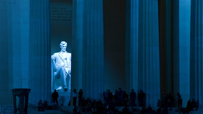 The Lincoln Memorial Washington DC-2016 Bing Desktop Wallpaper Views:548