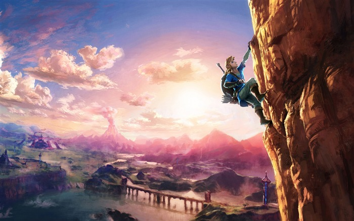 The legend of zelda breath of the wild-High Quality HD Wallpaper Views:1928