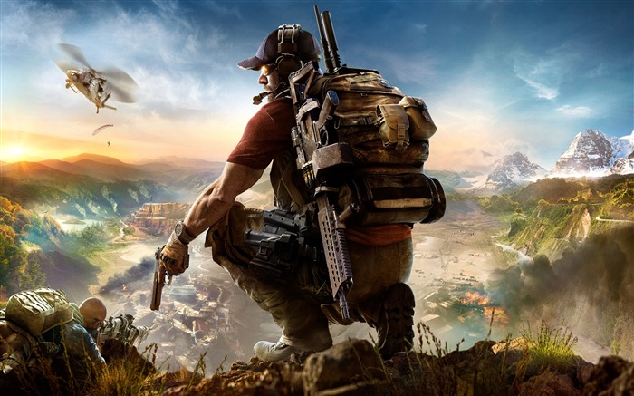 Tom clancys ghost recon wildlands-High Quality HD Wallpaper Views:1500