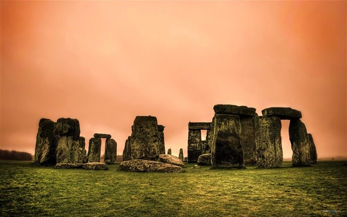 UK Stonehenge HDR chaos-HD Retina Wallpaper Views:2295