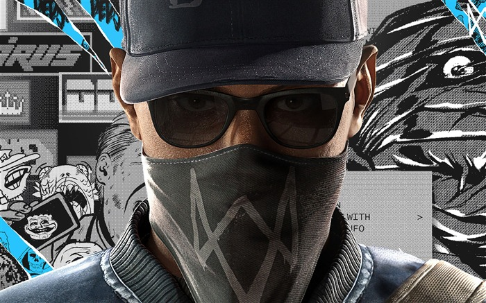 Watch dogs 2 marcus holloway-High Quality HD Wallpaper Views:1690