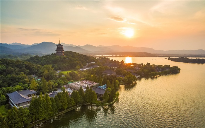 2016 G20 China Hangzhou scenery HD wallpaper 07 Views:2310