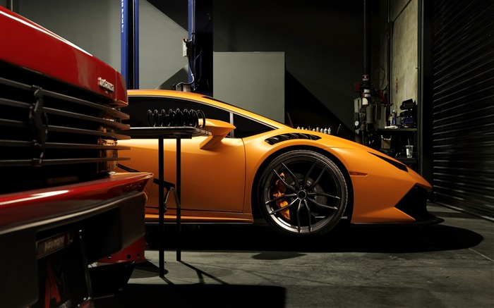 2016 Lamborghini Huracan Supercar Wallpaper 02 Views:1574