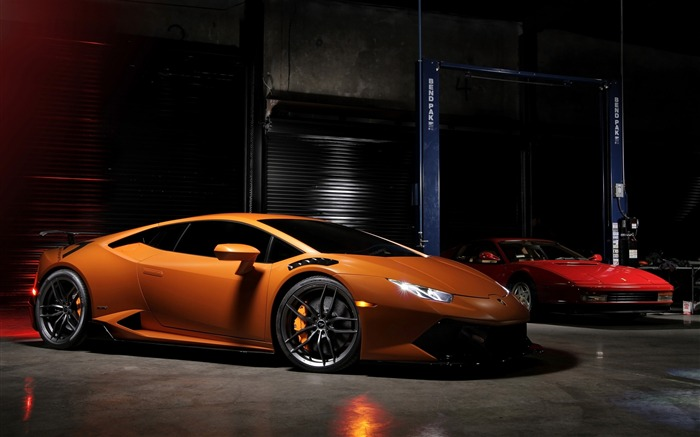 2016 Lamborghini Huracan Supercar Wallpaper 05 Views:1311