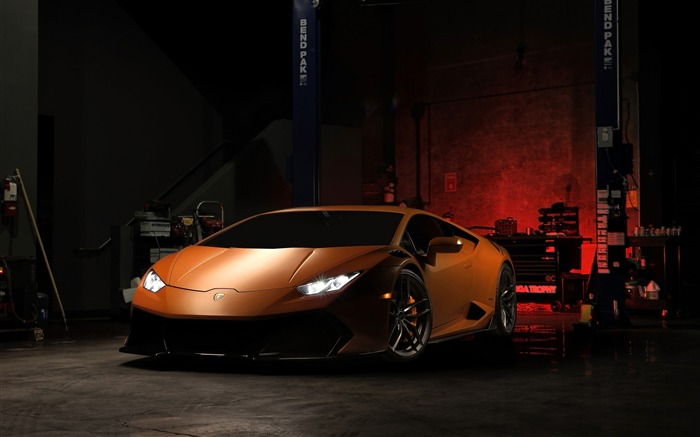 2016 Lamborghini Huracan V-FF 105 Supercar Wallpaper Views:2625