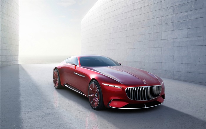 2016 Vision Mercedes-Maybach 6 Concept Car Wallpaper Views:3454