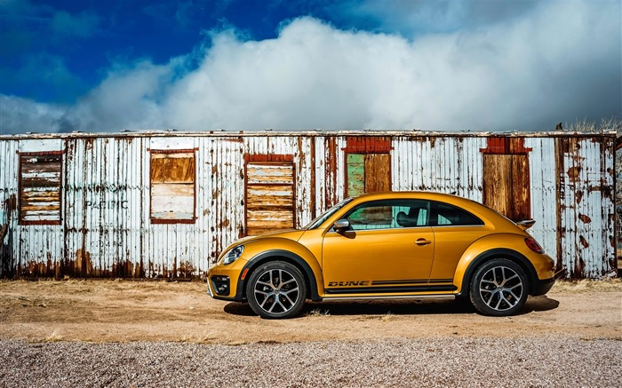 2016 Volkswagen Beetle Dune Auto HD Wallpaper Views:4106