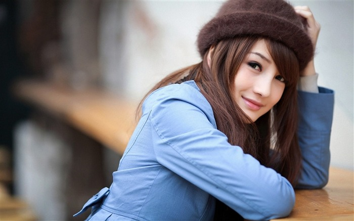 Asian youth fashion beauty photo desktop wallpaper Views:3089