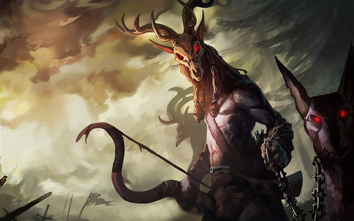 Drakensang online monster red eyes-2016 Art Design HD Wallpaper Views:1637