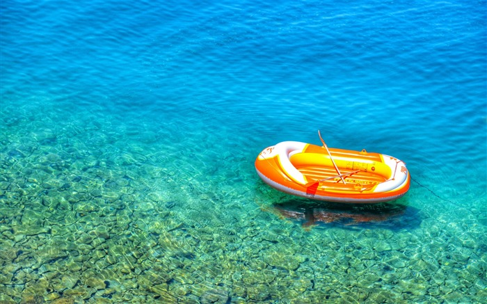 Inflatable boat in croatia-2016 High Quality Wallpaper Views:1761