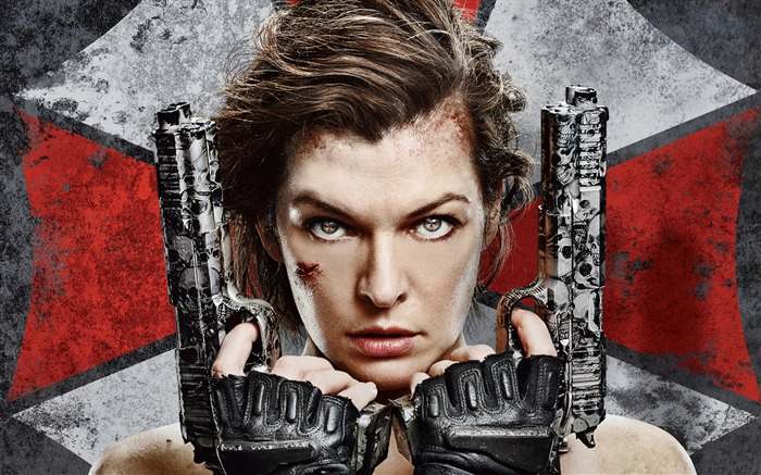 Resident Evil 6 Milla Jovovich-2016 Movie Posters Wallpaper Views:5632