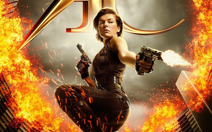 Resident Evil The Final Chapter-2016 Movie Posters Wallpaper Views:1828