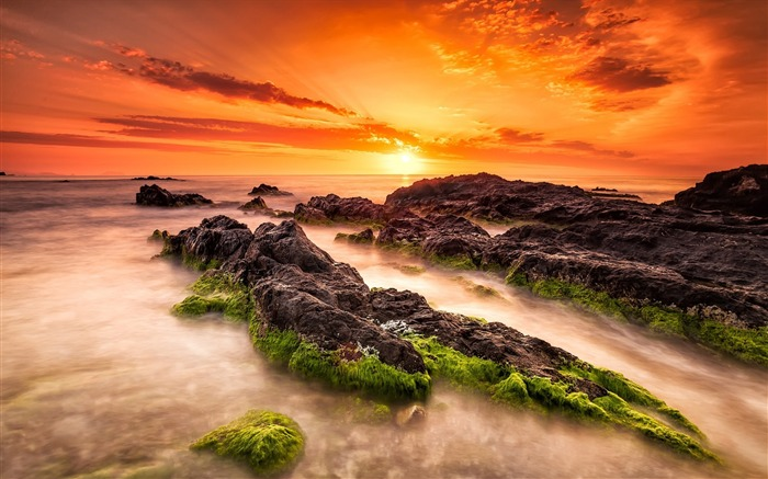 Sea beach sunrise turrican-2016 High Quality Wallpaper Views:1284