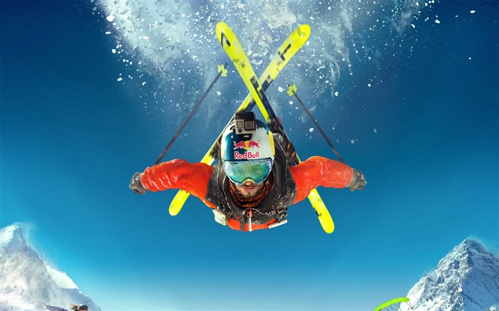 Steep skiing extreme-2016 High Quality Wallpaper Views:1013