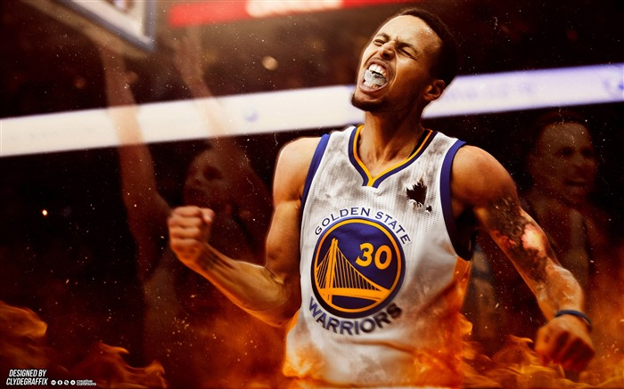 2016 NBA Basketball Star Poster HD Wallpaper Views:8155