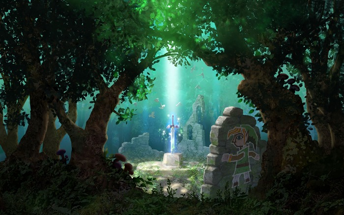 The legend of zelda-2016 Art Design HD Wallpaper Views:1186
