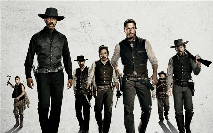 The magnificent seven-2016 Movie Posters Wallpaper Views:7475