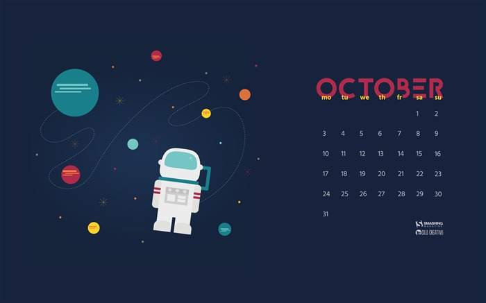 Time For Explorers-October 2016 Calendar Wallpaper Views:1549