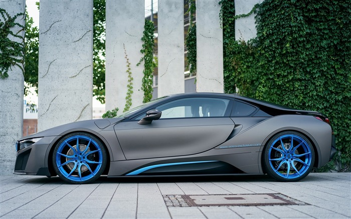 2016 GSC BMW i8 Auto Poster HD Wallpaper 01 Views:1764