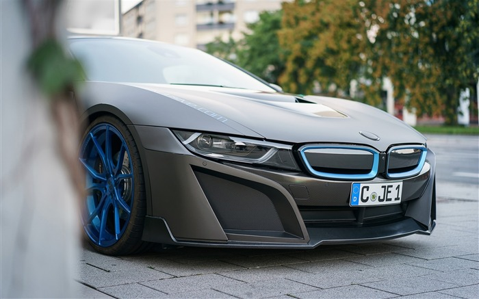 2016 GSC BMW i8 Auto Poster HD Wallpaper 11 Views:1892